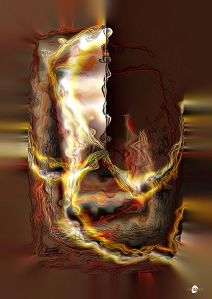 Cartsandra B Peinture numérique Lianes