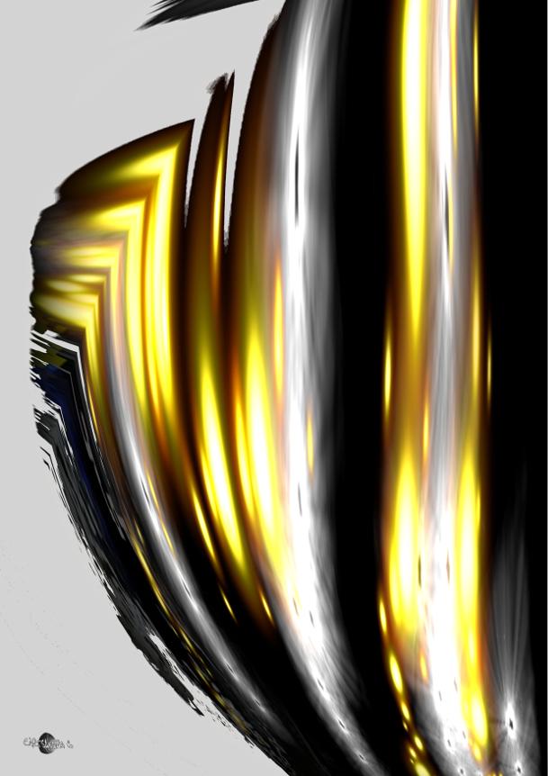 Cartsandra B Peinture numérique : En colère