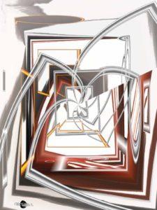Peinture numérique Energie Cartsandra B