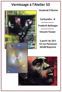 Affiche Expo Atelier 53