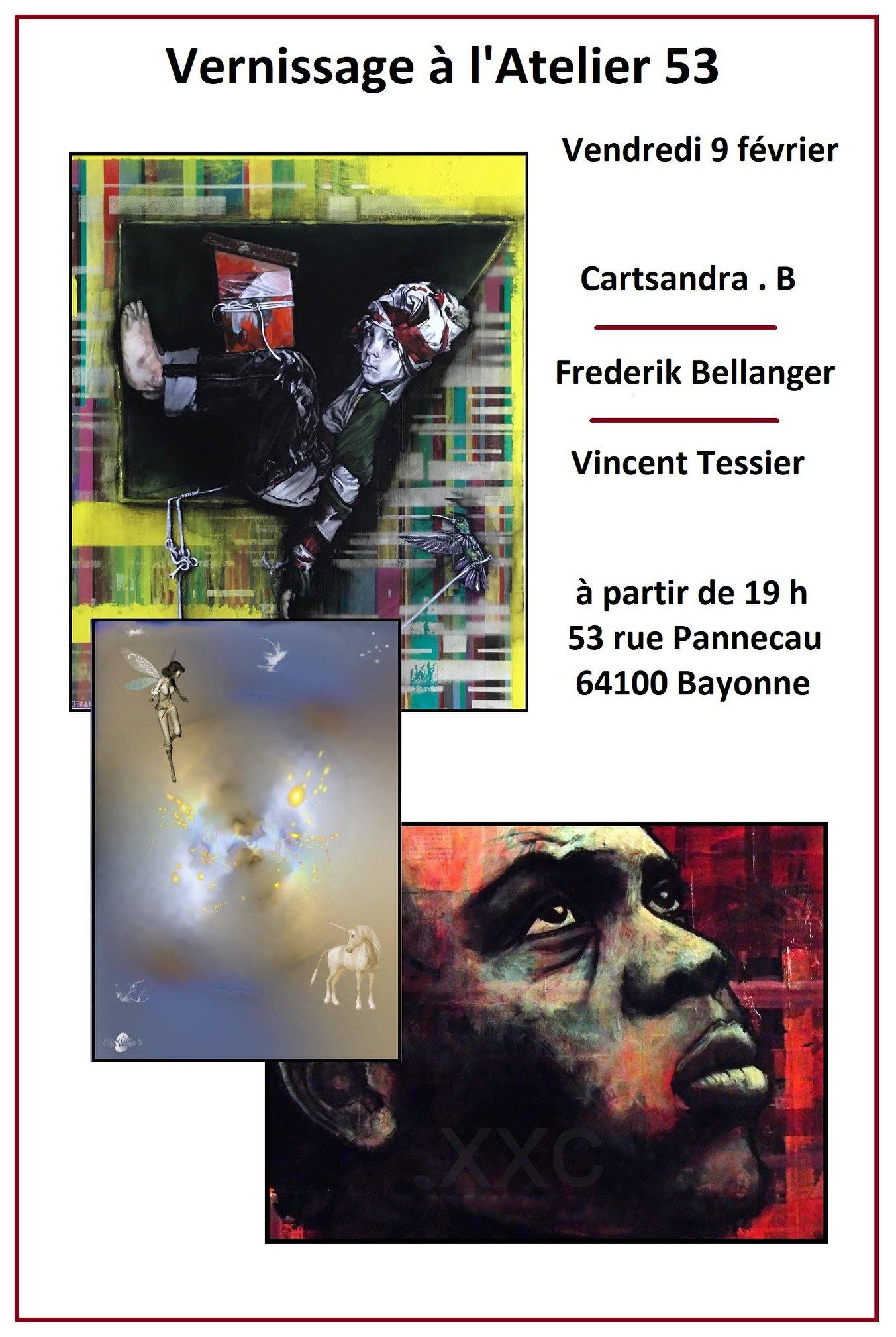 Expostition à la galerie Atelier 53
