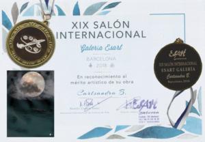 XIX Salon International Galerie Esart Prix du Jury
