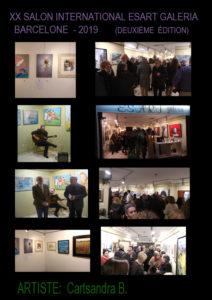 Galerie Esart Barcelone XX Salon International