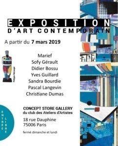 Expo 7 mars Paris
