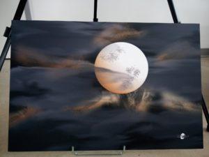 Ciel de lune 04nov 2019 - Expo Octobre 2020